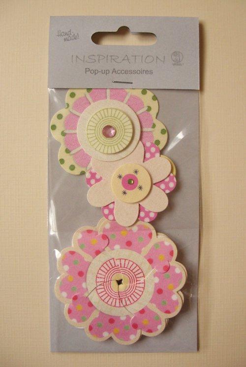 SLEVA!!! Kreativní 3D květinky Pop-up I.