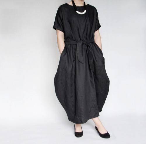 Šaty 2v1 - černé