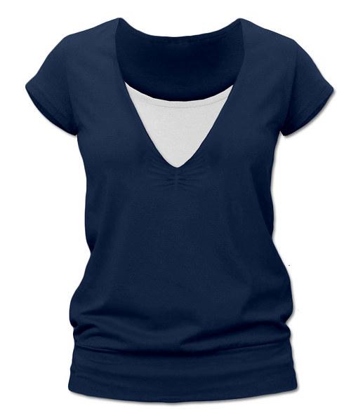 Kojící tričko jeans