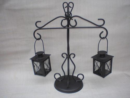 Váhy s lampičkamy