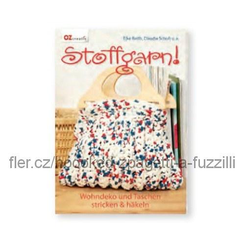 Kniha Stoffgarn (Tkaná příze)