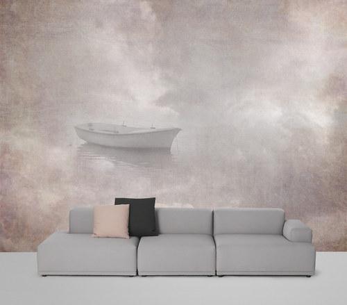 Luxusní vliesová tapeta ,,Sky boat,,