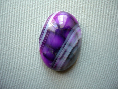 Kabošon - achát 25 mm, č.100w