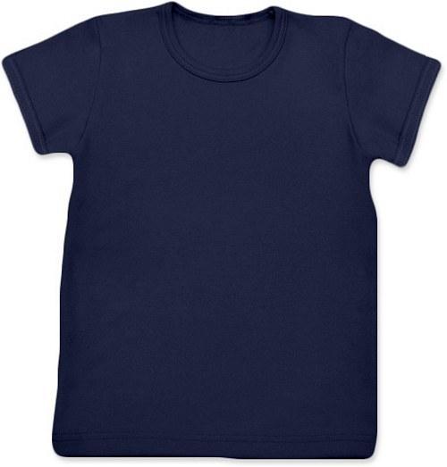 Dětské Uni tričko KR tmavě modré