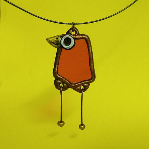 Ptáček Náhrdelníček