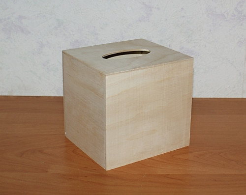 Krabička na kapesníky - ČTVEREC (KAPESMA1)