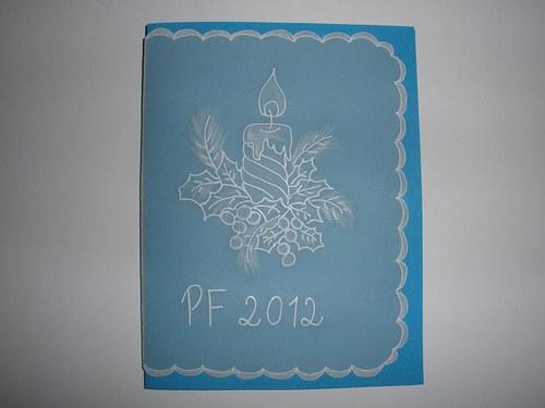 Modré PF přání 2013