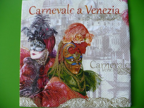 Ubrousek Carnevale a Venezia
