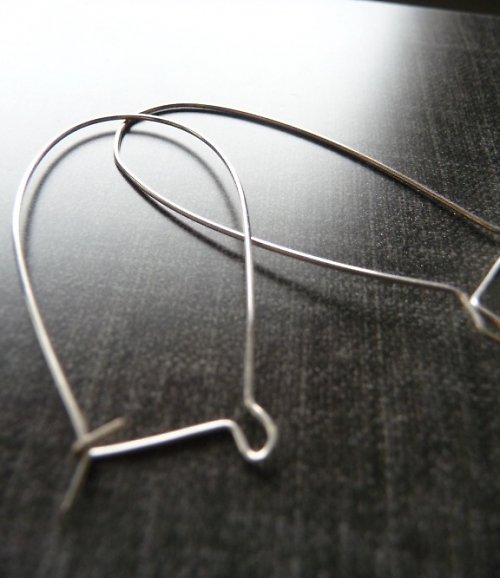 Náušničky véélké - 2 páry