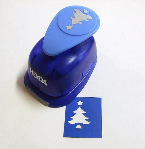 Okrasná děrovačka Vánoční strom