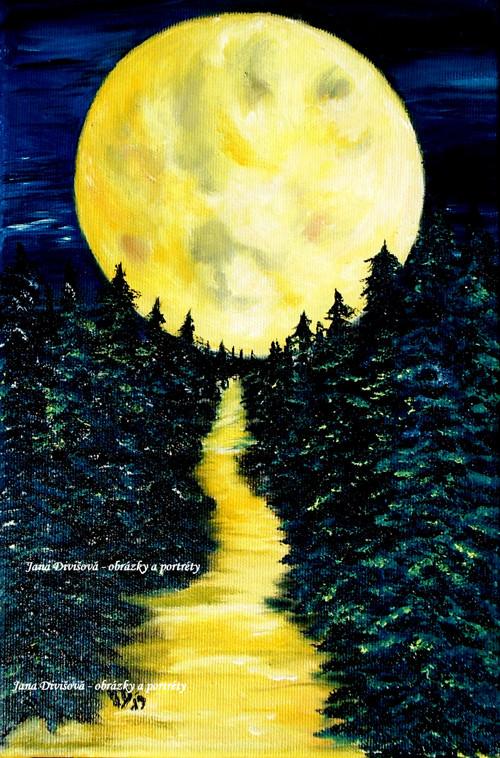 Za úplňku Měsíce- originál