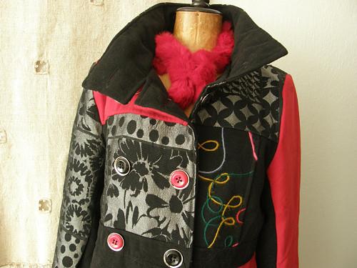 italský kabát nenošený