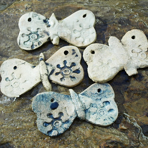 Sada čtyř motýlů - komponenty