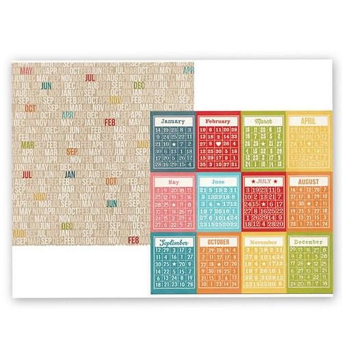 Scrapbookový papír SS / 3x4 / Daily Grind Bingo