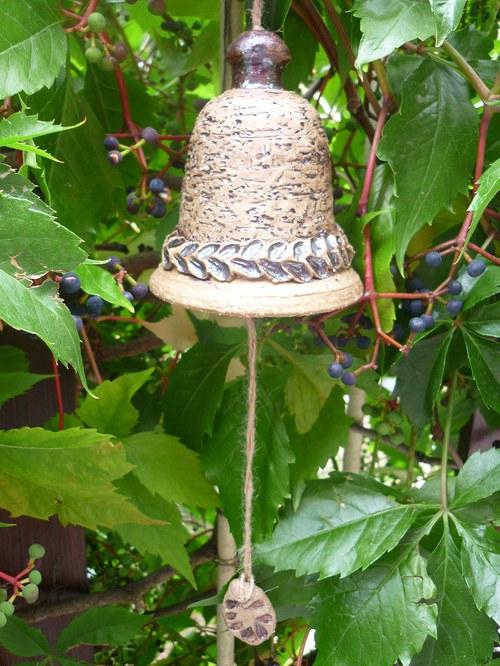 Keramický zvon - 12cm