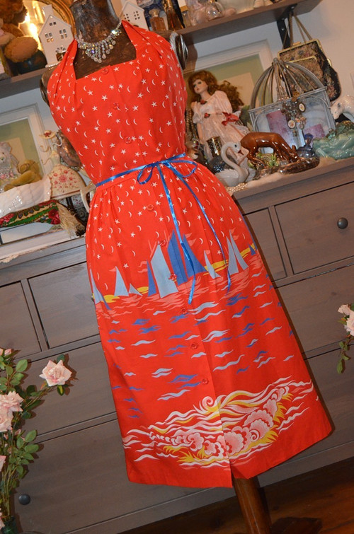 Prázdniny na Slapech... šaty báječně letní...