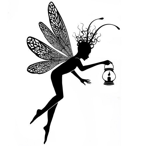 Silikonové razítko Lavinia / Dragonfly Keepers