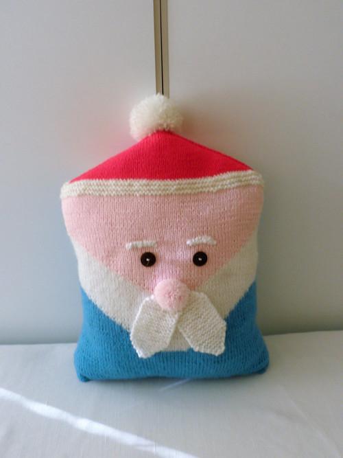 Dědeček Mrazíček - polštářek