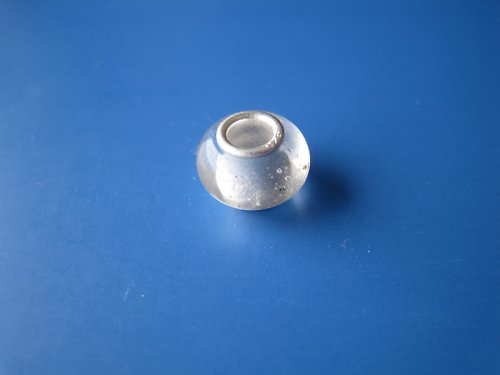 Korálek - jádro stříbro 925 - čírá - minerální