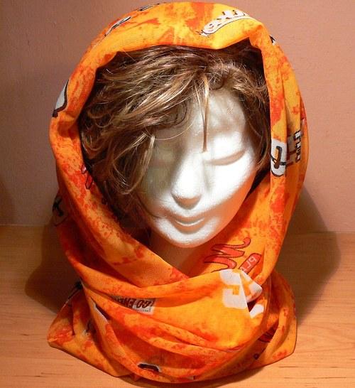 nákrčník oranžáda