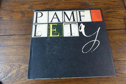 Pamflety, Radovan Krátký, 1961