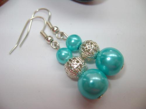 Náušnice perlové