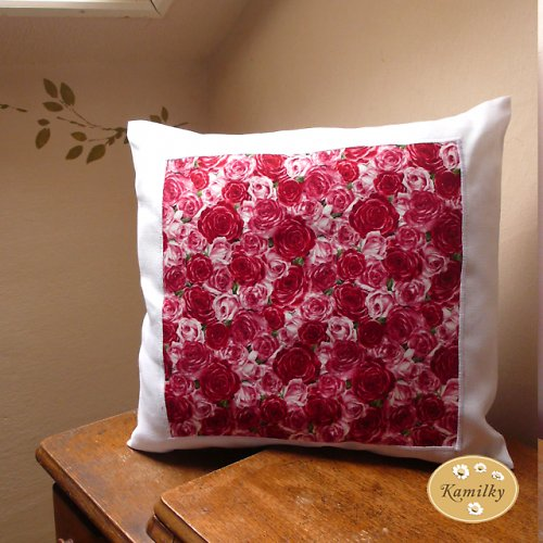 Růže -polštář