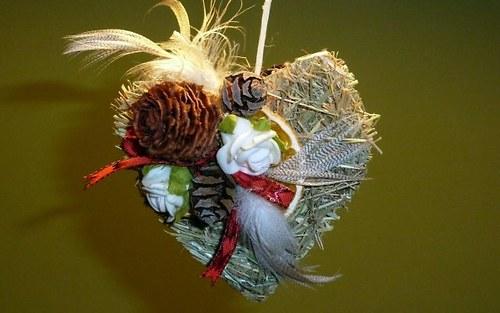 Květinové aranžmá Srdíčko z lásky darované