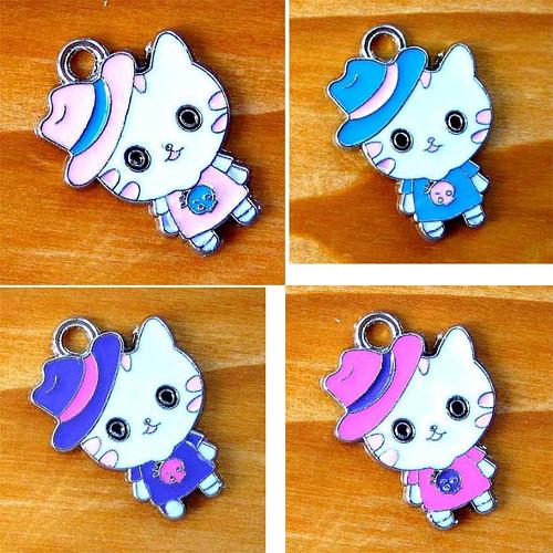 Kitty s Kloboučkem - Růžová