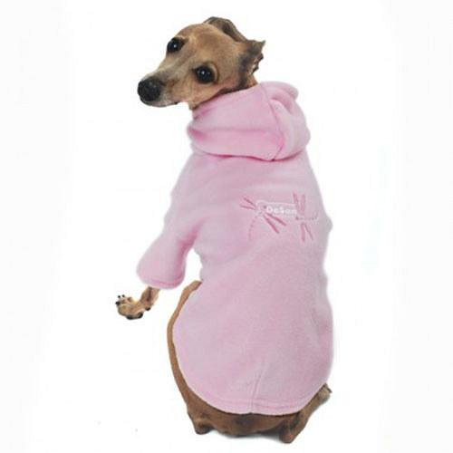 Psí obleček Vážky růžové