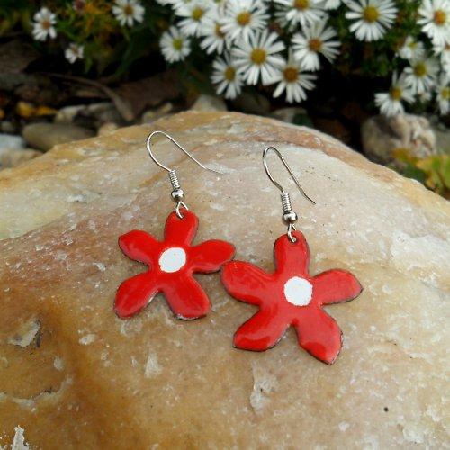 Červené kytky