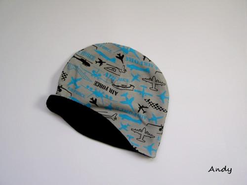 dětská čepice zimní - KLASIK