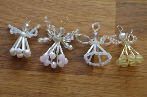 Vánoční set 3D andílci