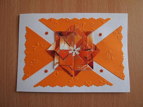 Přání oranžové D