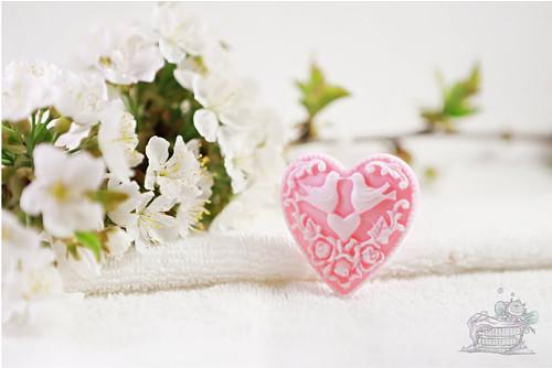 Svatební mýdlo s vůní Třešňového květu