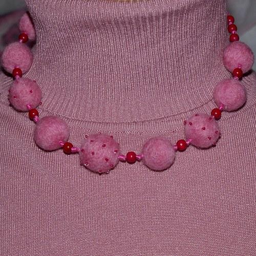 Pink - náhrdelník SLEVA