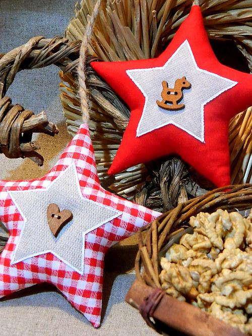 Staročeské Vánoce - hvězda do okna