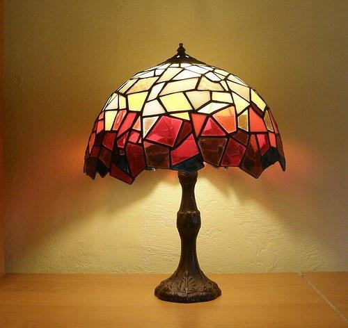 lampa mozaika