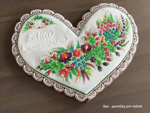 Perníkové srdce