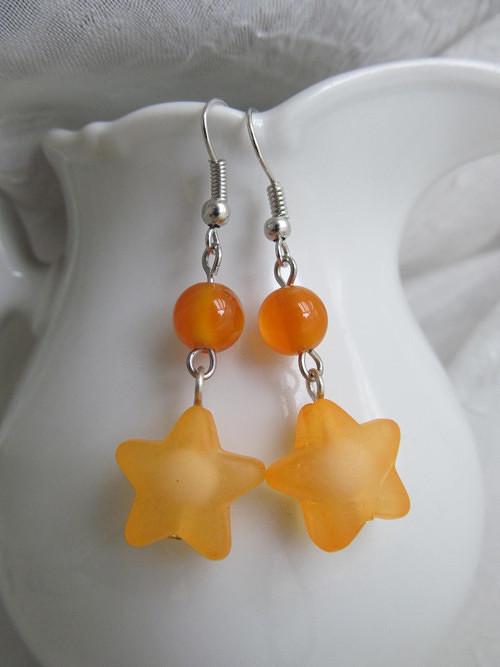 Oranžová hvězdička - výprodej