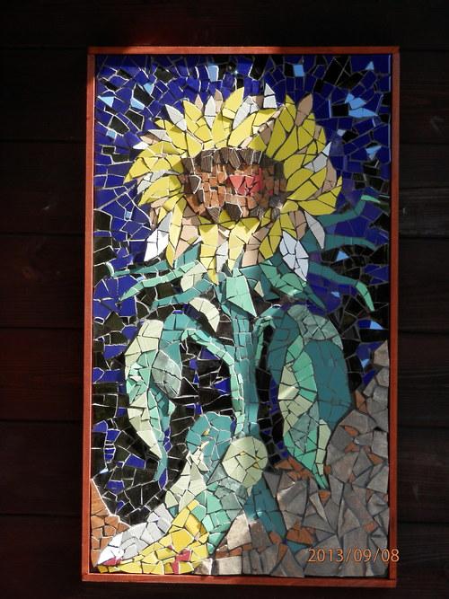 Mozaika -  Slunečnice
