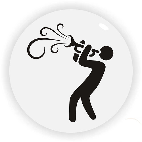 Magnetka trumpetisty