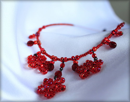 Rozkvetlý ...náhrdelník
