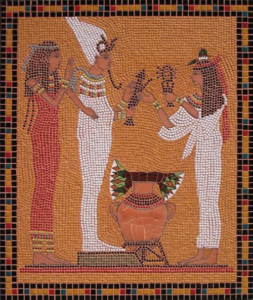 Keramická mozaika \'\'Starověký Egypt\'\'