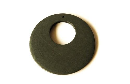 Dřevěné kolečko - šedé