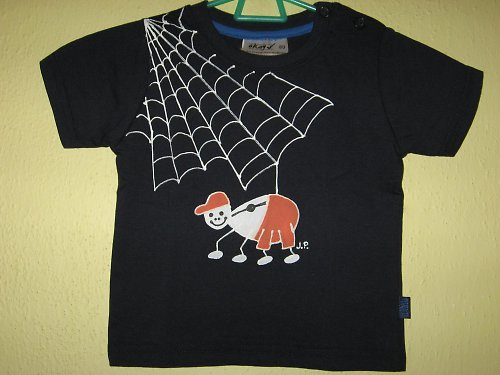 PAVOUČEK PRO ŠTĚSTÍ (80) - dětské tričko