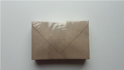 Obálky kraft 8 x 11, 4 cm - 50 ks