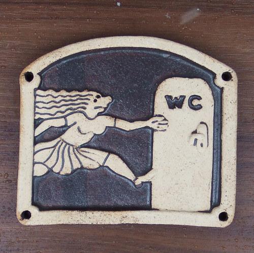 Kachlík č.27 - WC ženy