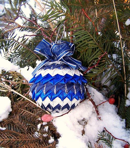 Vánoční dekorace - koulička