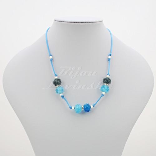 Náhrdelník - vinuté perle